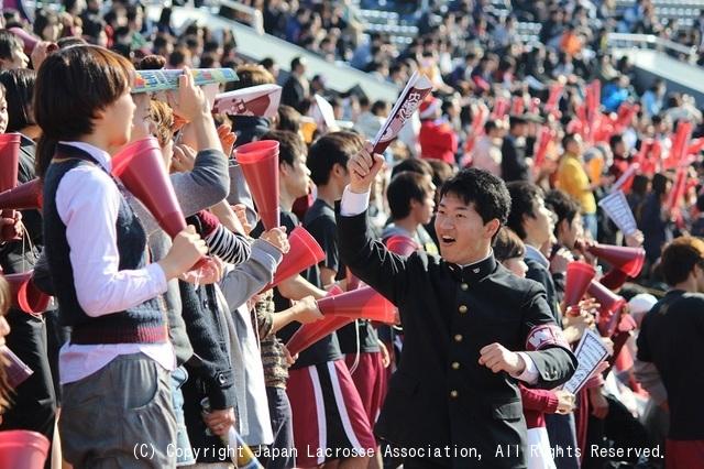早稲田大学応援席