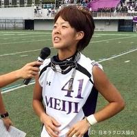 関東学生(女子)・明治大・寺西選手