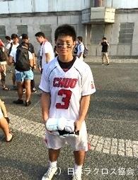 関東学生(男子)・中央大・高木選手