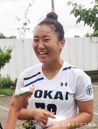 関東学生(女子)・東海大・拔井選手