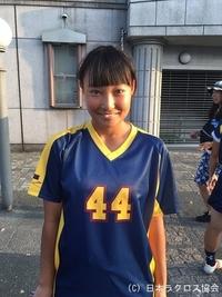 関東学生(女子)・駒澤大・篠子選手