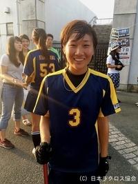 関東学生(女子)・駒澤大・五味選手