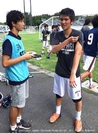 関東学生(男子)・慶應義塾高・藤井選手