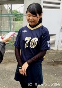 関東学生(女子)・日本女子大・池上選手