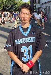 関東学生(男子)・学習院大・鷺選手