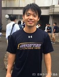 関東学生(男子)・立教大・堀内選手