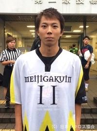 関東学生(男子)・明治学院大・川崎選手