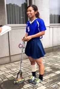 関東学生(女子)・東京外国語大・鈴木選手