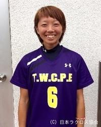 関東学生(女子)・東京女子体育大・志村選手