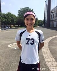 関東学生(女子)・国際基督教大・徳井選手