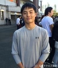 関東学生(男子)・慶應義塾・松平選手