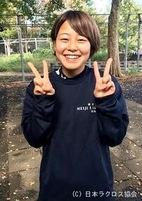関東学生(女子)・明治大・安達選手