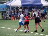 女子第3戦・香港戦