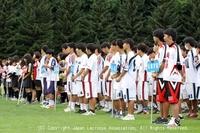 8月13日 第23回北海道学生ラクロスリーグ戦・開会式