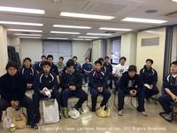ラクロス国際親善試合2018(日本・オーストラリア男子代表強化試合)1日目