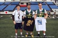 ラクロス国際親善試合2018(日本・オーストラリア男子代表強化試合)1日目 マンオブザマッチ(エキシビ)