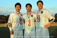ラクロス国際親善試合2018(日本・オーストラリア男子代表強化試合)2日目 マンオブザマッチ(第ニ戦)