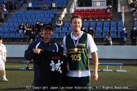 ラクロス国際親善試合2018(日本・オーストラリア男子代表強化試合)4日目