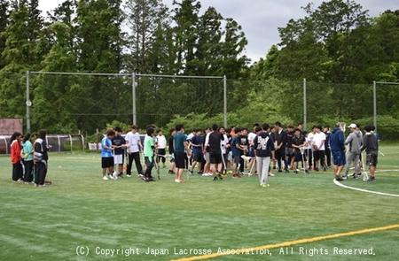 東北地区・第1回フレッシュマンクリニック(男子)